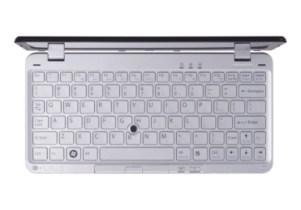 Detalhe do teclado