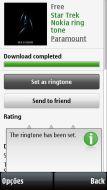 Depois do download, defina como ringtone do celular