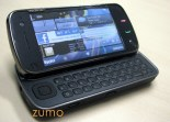 N97 aberto, com a tela principal