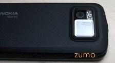 Detalhe da câmera do N97