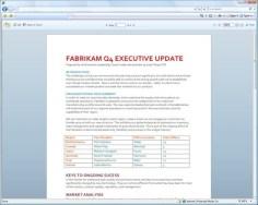 Vendo um documento Word online