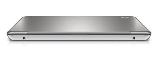 HP Envy13 - front closed, high angle on white