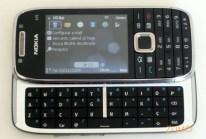 E75 e seu bom teclado QWERTY