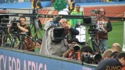 Zoom em mais câmeras de TV