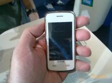 Touchscreen branco