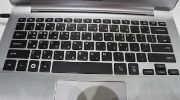 ...teclado de notebook