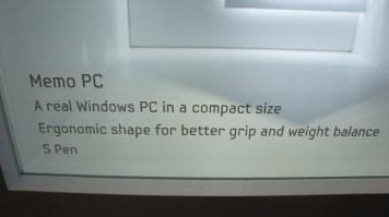 Memo PC