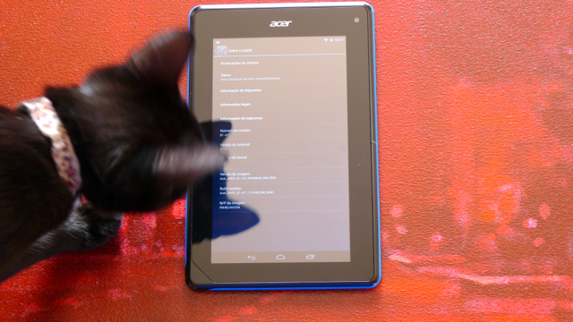 Hands-on: tablet Acer Iconia B1