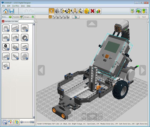 Lego_LDD_mindstorms
