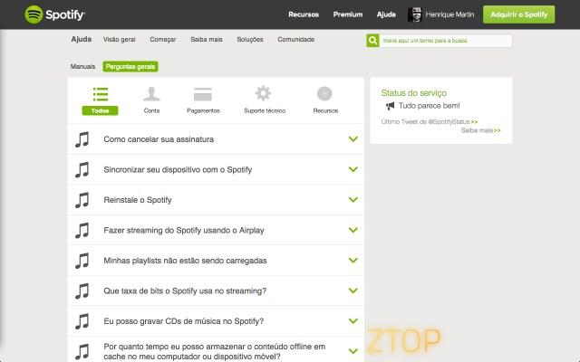 05 - Spotify FAQ