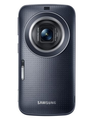 Galaxy K zoom_Charcoal Black_02_Lens open