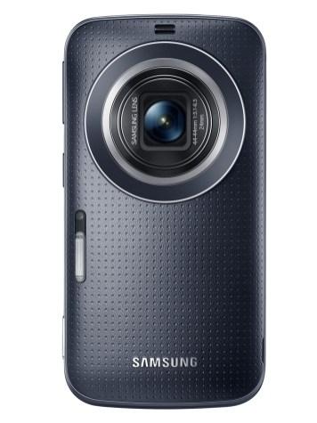 Galaxy K zoom_Charcoal Black_02_Lens open