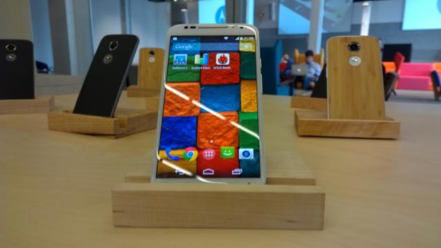 Macro: Motorola Moto X (2014)