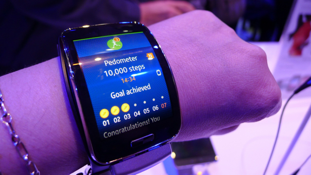 samsung galaxy gear S - 5