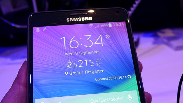 Números enormes: Samsung Galaxy Note 4
