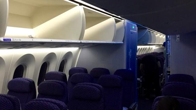 united 787  - 8