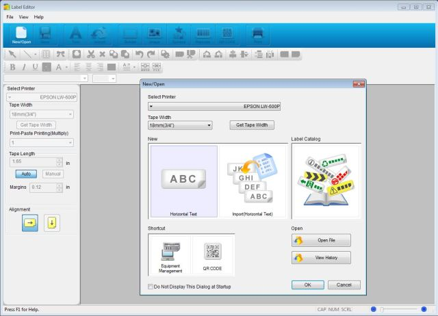 Epson_LW600_label_editor_PC