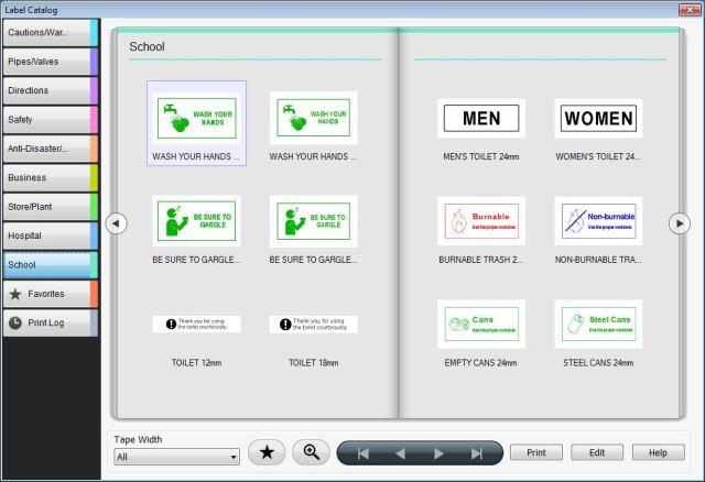 Epson_LW600_label_editor_PC_templates2
