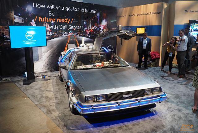 Dellworld15_showcase_delorean