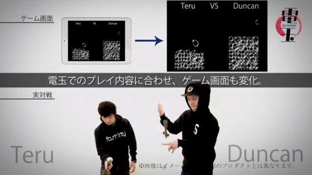 Power Ball Dendama game tablet