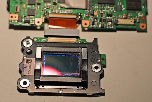 Nikon D80 podczerwień