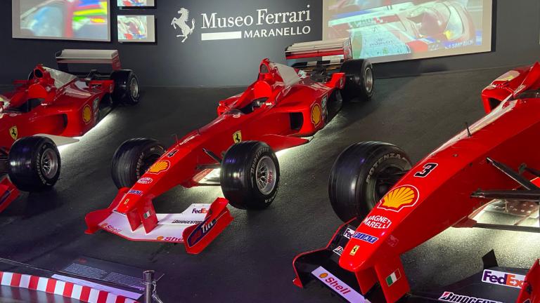 Visitare il museo Ferrari con i bambini