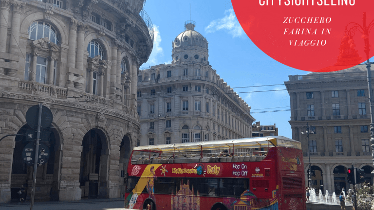 Scoprire Genova con citysightseeing  bus