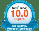 Zuckerman Law Avvo Rating