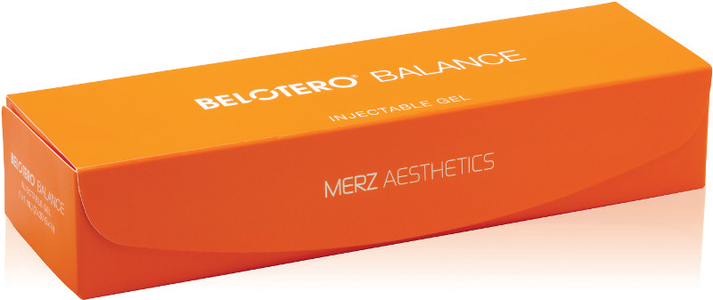 Belotero Balance® injectable dermal filler product and packaging.
