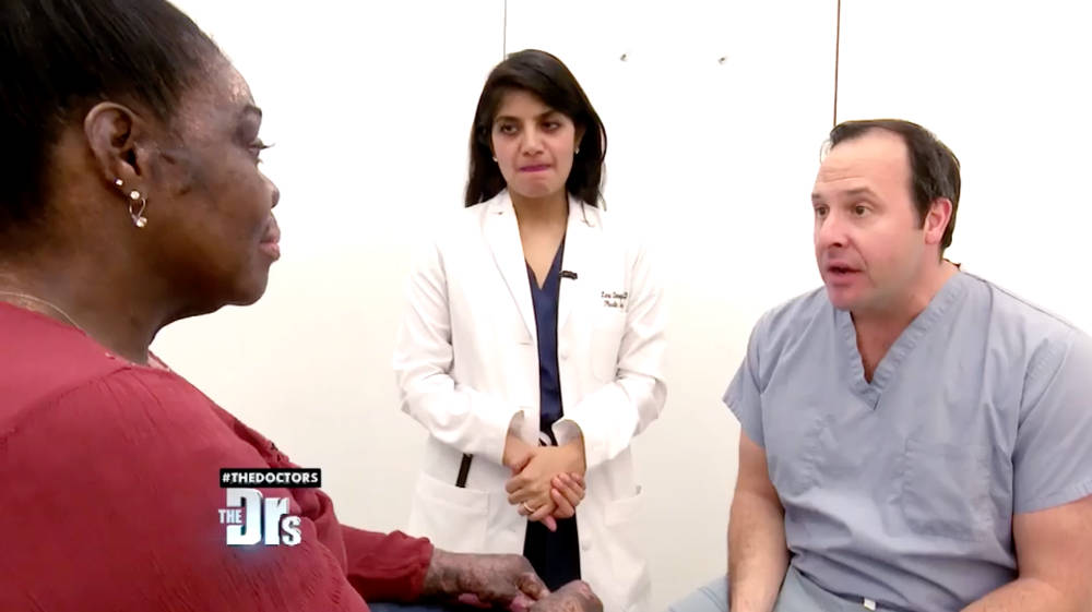 Dr. Zuckerman was on this episode of The Doctors for a preoperative evaluation of a severe burn victim who requires a complex plastic surgery reconstruction.