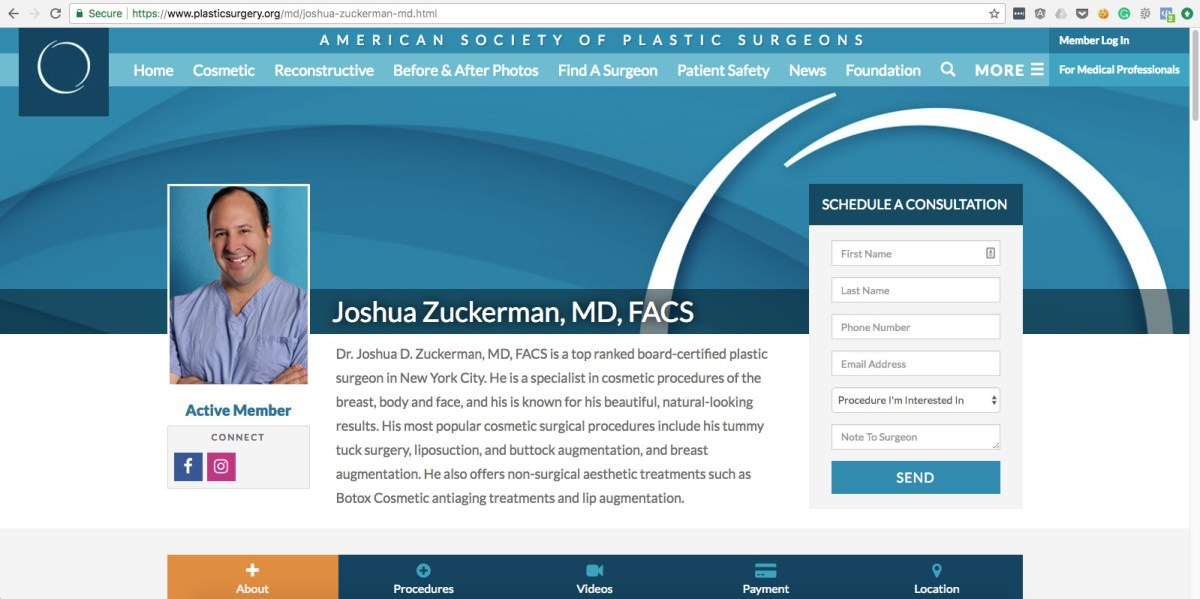 Plastic Surgery Board Certification Matters Top Ranked Zuckerman
