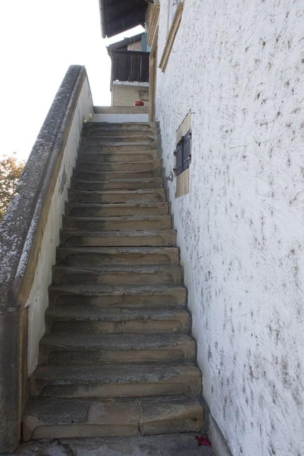 Kauf einer Treppenstufe