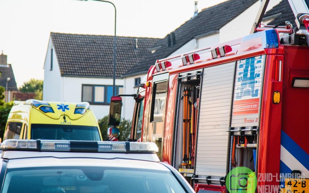Brandweer rukt uit voor brand in woning