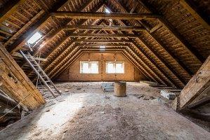 attic- roof