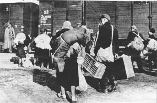 Abtransport slowakischer Juden