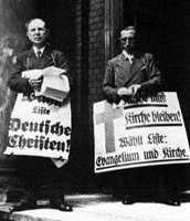 """""""Deutsche Christen"""" während der Synodalwahlen 1933"""