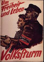 NS-Propagandaplakat 1945