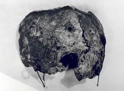 Schädelfragment vom Fundort der Leichen Hitlers und Eva Brauns