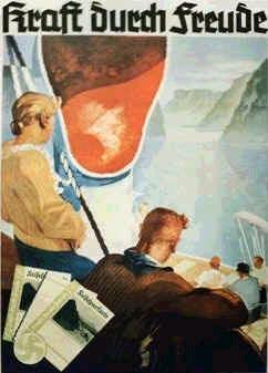 KDF Propagandaplakat.