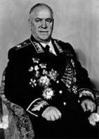 Georgij K. Zukov (1896-1974), Oberkommandierender der Leningrader Front