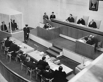 Adolf Eichmann wird zum Tode verurteilt. 15.12.1961.