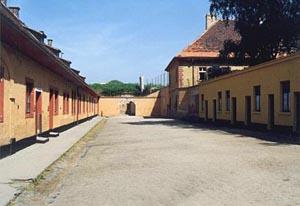 """Die sogenannte """"Kleine Festung"""" im Ghetto Theresienstadt"""