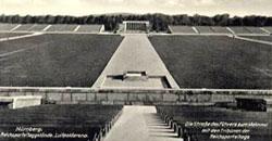 Das Gelände der Reichsparteitage in Nürnberg