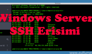 Windows Servera SSH Erişimi