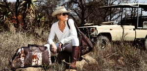 safari style, cowhide bags, cowhide travel bag, weekend bag, natural leather, cowhide rugs, safari lodge,