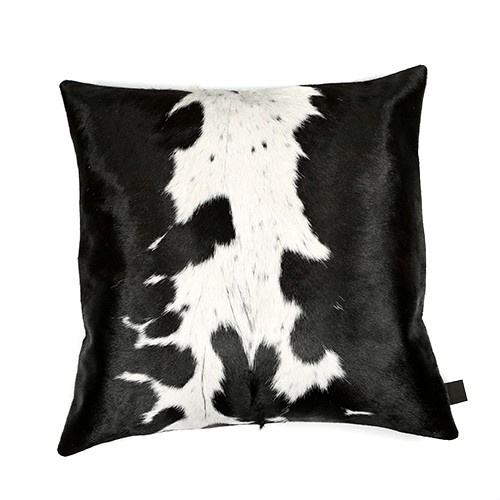 Cowhide Cushions Black And White Zulucow