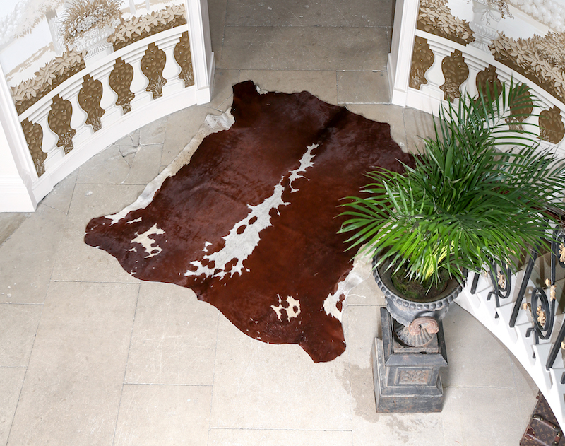 Top tips to keep your Cowhide Rug clean…