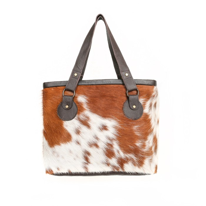 cowhide bag, cowhide purse, leather handbag, hand-made bag, artisan-made, tote, sustainable fashion, ethically made, slow fashion
