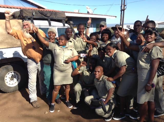 Kingsley Holgate Rhino Ambassadors