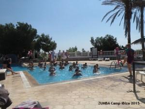 Aqua ZUMBA auf dem ZUMBA Camp in Ibiza 201540